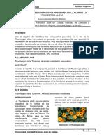 Compuestos Presentes en La Flor de La Thunbergia Alata (2)