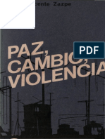 Zazpe, Vicente - Paz Cambio Tolerancia