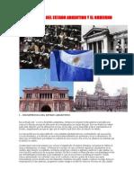 LA DISOLUCIÓN DEL ESTADO ARGENTINO Y EL GOBIERNO MUNDIAL