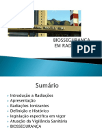 Biossegurança hospitalar- radiologia.