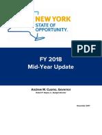 Fy 2018 Midyear Update