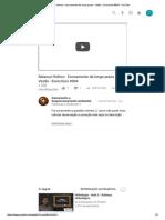 Balanço Hídrico - Escoamento de Longo Prazo - Vazão - Exercícios #004 - YouTube