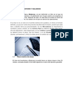 Libro de Inventario y Balances