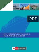 Guia de Orientacion Al Usuario Del Transporte Acuatico