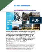 FLORENCIO VARELA ANTRO DE INMUNDICIA Y CORRUPCIÓN