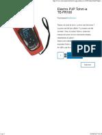 Pinces de terre _ Electro PJP Tohm-e TE-FR100.pdf