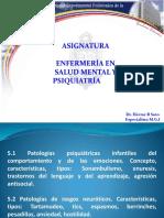 5.1-5.2 Patologías Psiquiatricas Infantiles