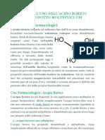 Acidoborico-nomenclatura y Proceso