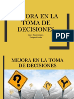 Mejora en La Toma de Decisiones1
