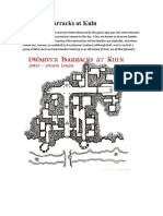 Dwarven Barracks