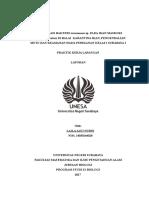 Sampul Laporan PKL Vivin