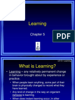 Chapter 5 Ciccarelli - Learning