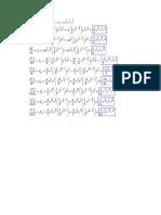 Formulas de Derivadas Parciales