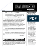 September 2004 Jayhawk Audubon Society Newsletter