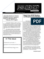 February 2005 Jayhawk Audubon Society Newsletter