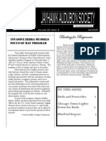 May 2005 Jayhawk Audubon Society Newsletter