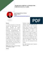 Evaluacion Tradicional Frente Al Enfoque Por Competencias en La Uajms