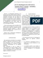 Informe # 1 (Desintegracion Radioactiva)