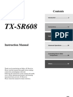 Manual Onkyo TX-SR608