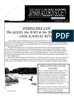 February 2006 Jayhawk Audubon Society Newsletter