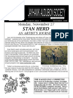 November 2006 Jayhawk Audubon Society Newsletter