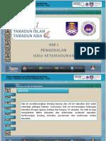 Bab 1- Pengenalan Ilmu Ketamadunan (1)