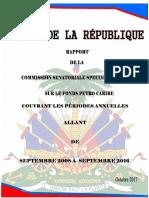 #HAITI - Rapport Petro Caribe Octobre 2017