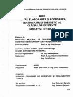 GT 037 - 02 Ghid Certificat Energetic
