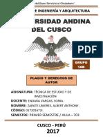 Plagio y Derechos de Autor (Monografìa).docx