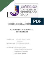 Lab 5 Chm420