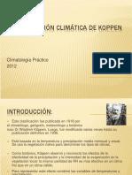 Clasificacion Koppen