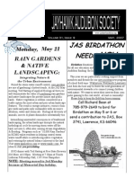 May 2007 Jayhawk Audubon Society Newsletter