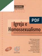 A CAMINHO DO REINO, IGREJA E HOMOSSEXUALISMO - Varios Autores.pdf