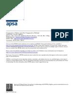 Comparative Politics and the Comparative Method - Lijhardt.pdf