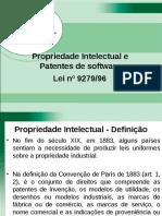 Lei9279 Propriedade Intelectual