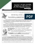 June 2008 Jayhawk Audubon Society Newsletter