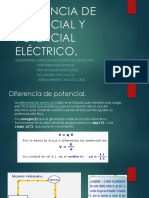 Diferencia de Potencial y Potencial Eléctrico
