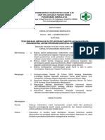 sk penyampaian umpan balik (pelaporan) dari pelaksana kepada penanggung jwab program dan kepala puskesmas.docx