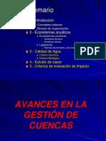 Clase_6_de_agosto Avances en La Gestion de Cuencas