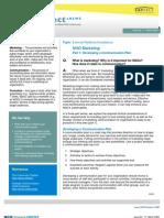 External Relations-Compliance - NGO Marketing Part 1- Developing a Communication Plan