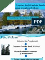 Metodologi Dan Prosedur Audit Produksi Bersih