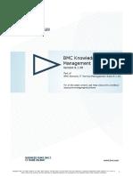 BMC Knowledge Management 81 SpacePDF