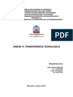 Transferencia Tecnológica - Ensayo