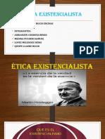 ÉTICA EXISTENCIALISTA