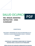 Salud Ocupacional Ing. Manotas