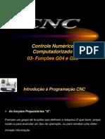 Aulas 03- CNC- Função G04 e G33