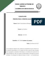 FRENTES CLIMATOLOGIA
