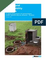A study on toilet technology