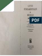 Leyes fundamentales de México, Tena Ramírez