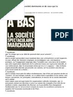 Ken Knabb - Avis à propos de La Société Dominante Et de Ceux Qui La Contestent (La Revue Des Ressources)